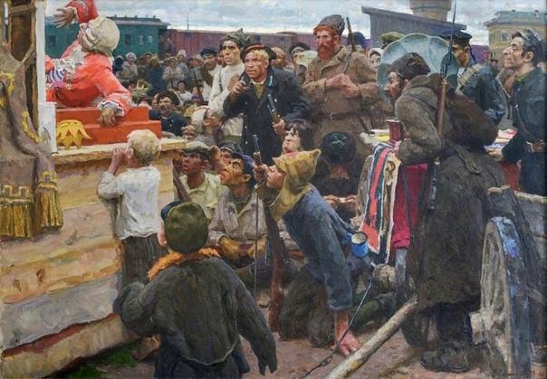 Картина «Первый спектакль», 1959-1960 гг.