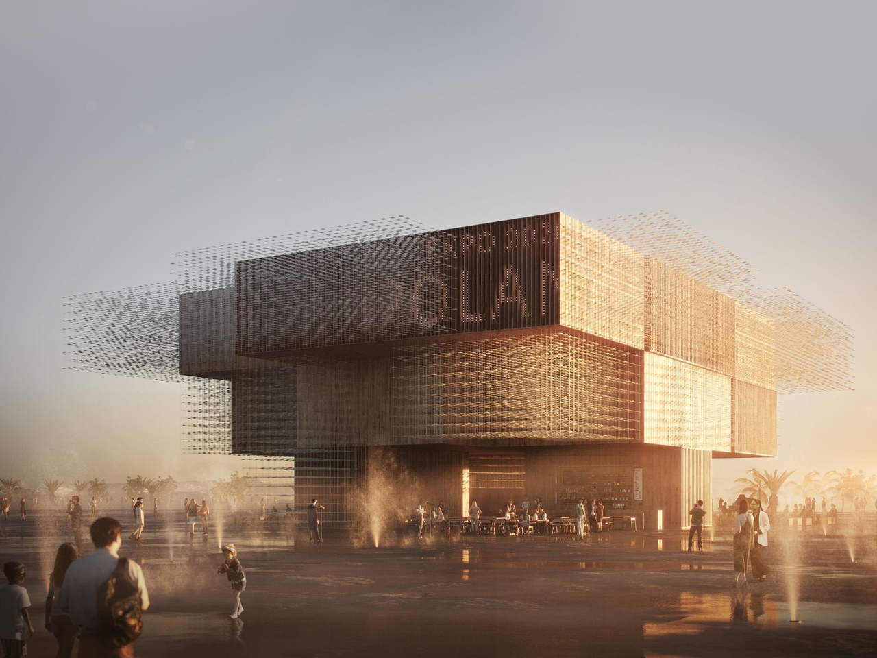 An Inspiring Pavilion for Poland in World Expo 2020 by WXCA