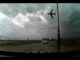 Авиакатастрофа в Афганистане Страшные кадры крушения Боинга 747
