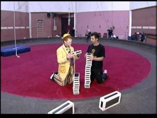Азбука цирка. Кубики и жонглер, выпуск 24
