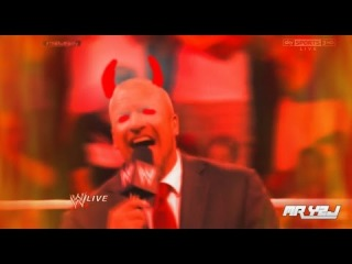 WWE Triple H Evil Laugh! He Needs The Exorcist! - WWE Funny Moment 2014
