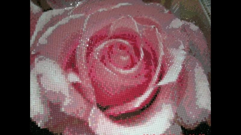 Алмазная вышивка. Розы