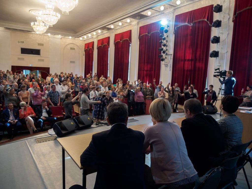 Как Дмитровчане сорвали слушания по проекту реконструкции полигона «Непейно»