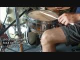 70s Slingerland 5x14 COB Gene Krupa vintage snare drum