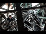 DEAD PIGEONS IN SPIRE OF ABANDONED CATHEDRAL!