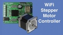 WiFi Stepper Motor Controller with Web-based Interface