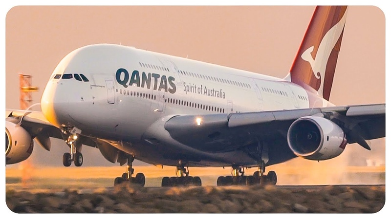 Qantas Airbus A380s at Sydney Airport | ft NEW Qantas Livery | Sydney Airport Plane Spotting