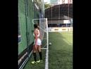Бразильянка положила мячь в ворота с нулевого угла