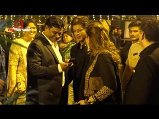 Shahrukh Khan At Poorna Patel's Wedding Party _ SRK in ZERO Style