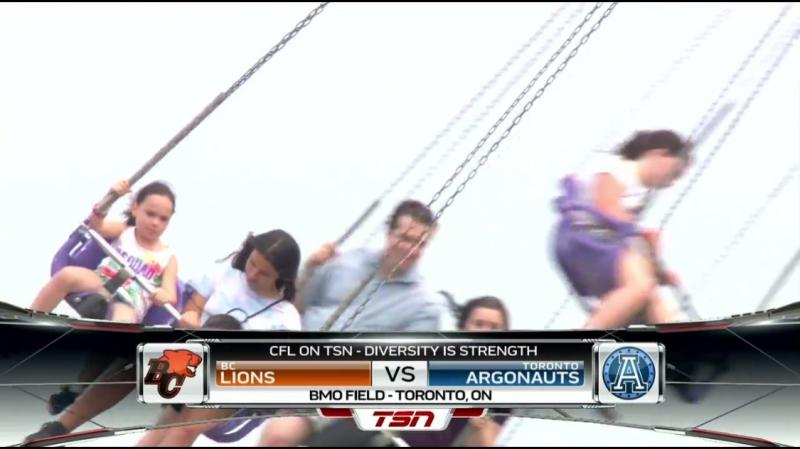 CFL 2018 Week 10 BC Lions - Toronto Argonauts EN