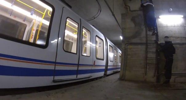 Metro Brescia graffiti
