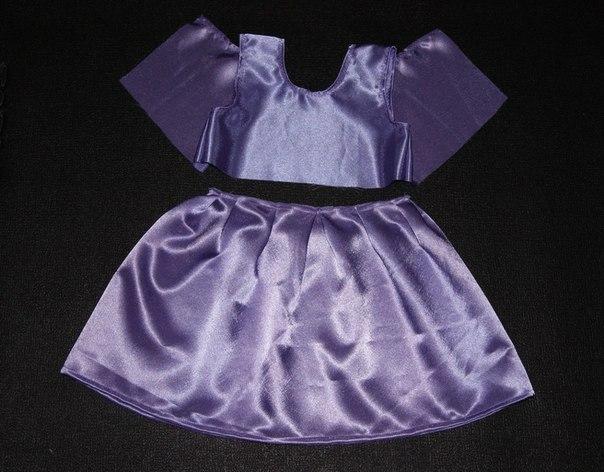 Шьем платье к новому году своими руками
