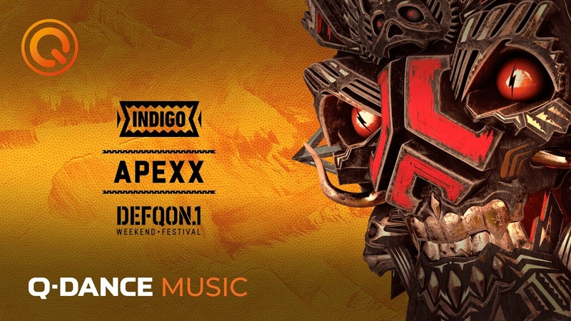 The Colors of Defqon 1 2019 INDIGO raw mix by Apexx