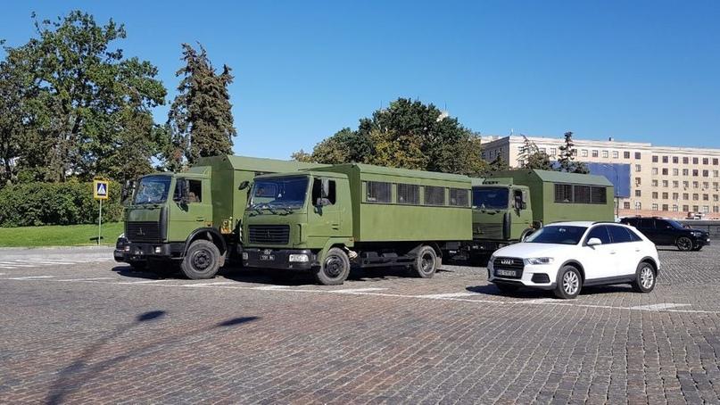 У центрі Харкова посилили заходи безпеки перед проведенням Автопрайду