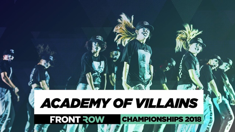 Academy of Villains | FrontRow | World of Dance Championships 2018 | WODCHAMPS18