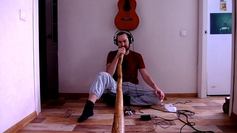 Didgeridoo key оf F 432Hz (Toned Oak tree) by Karagachwood