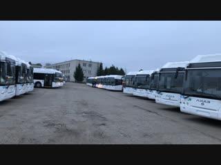32 новеньких автобуса уже в Чебоксарах. Будет >80!