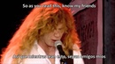 Megadeth - A Tout Le Monde (Subtitulada)