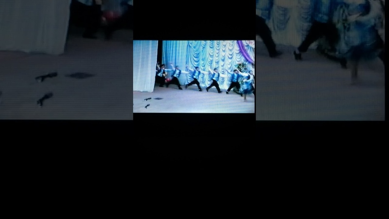 Школа Яктылык г. Самара 1999 год. Башкирский танец (Выпуск 2002 г)