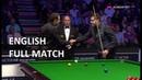 Ronnie O'Sullivan vs Eden Sharav full match English Open Snooker 2018 R4