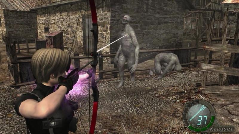 Resident Evil 4 Jessika Krauser in Regenerator's Hell