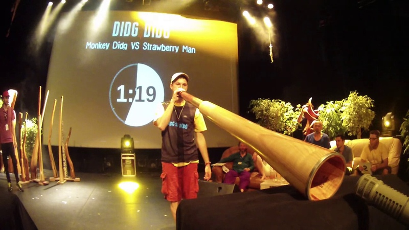 Didg To Didg 4 - 1/4 FINALES SOLO - MonkeyDidg VS Strawberry Man