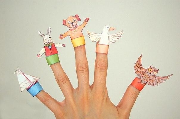 Изготовление пальчиковых кукол своими руками