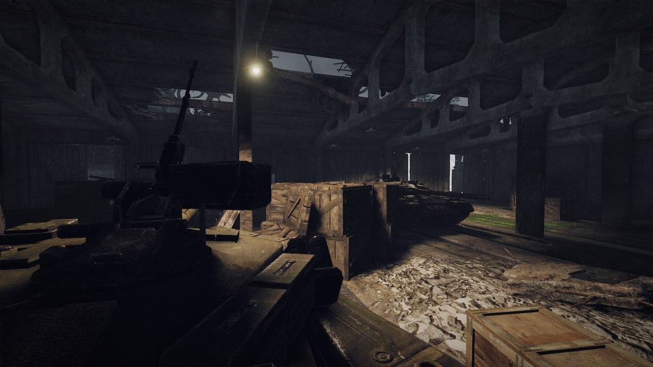Цех ремонта военной техники