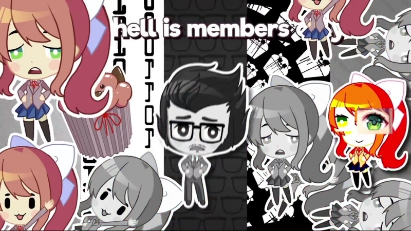 WHY DID I SAY OKIE DOKI - Animated Doki Doki Literature Club Song!