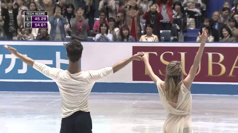Габриэла Пападакис / Гийом Сизерон (Франция), произвольный танец 1-(111.06)