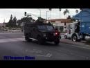 Gardena Police Lenco Bearcat LASD SEB Responding