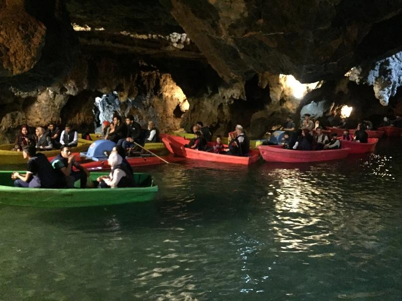 Иран 4. Водяная пещера Али-Садр