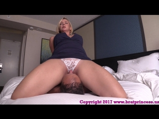 Goddess brianna - wife face sits cuckold husband