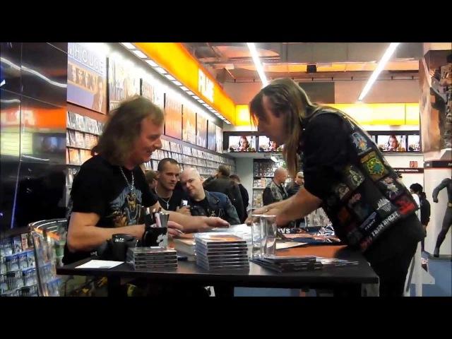 Running Wild _ Signing Session with Rock'n'Rolf __Saturn, Hansaring 97, 50670 Köln _October/ 5/ 2013