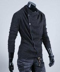 Envy LAB Купить мужской стильный кардиган Placket Cardigan Интернет-магазин модной мужской одежды.