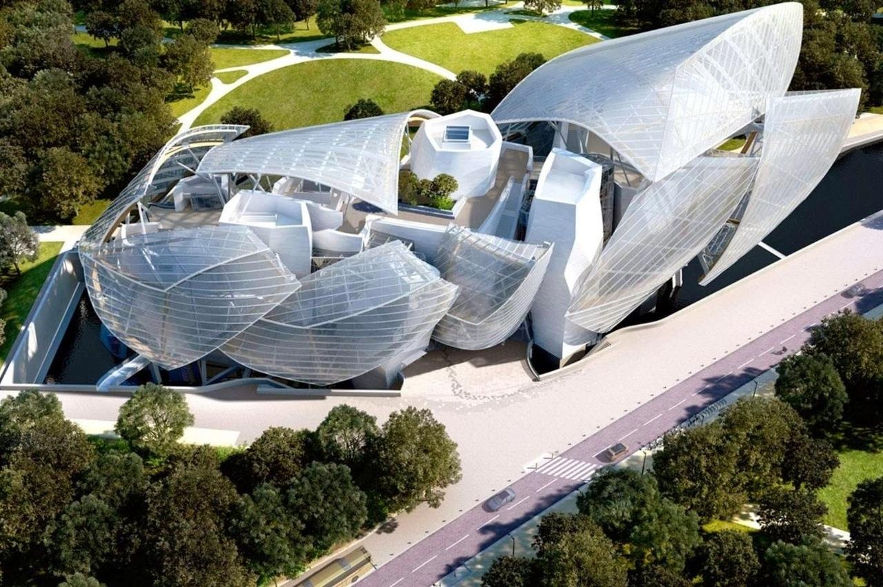 Музей Fondation Louis Vuitton по проекту Фрэнка Гери