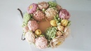 앙금플라워 작약 튤립 국화 white kidney bean paste flower piping peony tulip chrysanthemum
