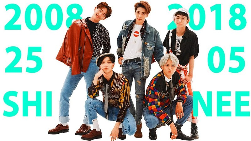10 YEARS WITH SHINEE (1000 YEARS ALWAYS BY YOUR SIDE) 2008-2018