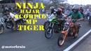 Meski Di TAWUR, NINJA Buat SCORPIO MP TIGER Minta Ampun