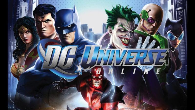 Продолжаю злодеяния в DC Universe Online
