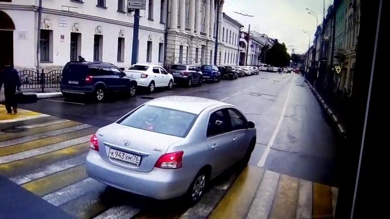 Будьте аккуратнее, вот такие водители у нас есть в городе. Ярославль (vk.comblack_list_yar)