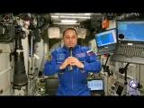 Космическое поздравление с 8 Марта от командира экипажа МКС