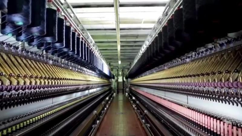 Loro Piana производство ткани.