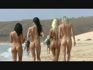 Anneli (Pinky June), Claudie, Eveline, Tess - Slide - Fuerte 2012 - Bikini-Pleas