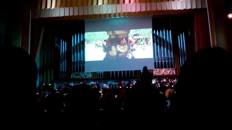 15 июня 2018г. Саундтрек-шоу в исполнении оркестра духовых инструментов в концетном зале Донецкой филармонии. Пираты Карибского