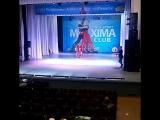 Самый яркий номер первого отделения второго конкурсного дня Чемпионата ЮФО ,номинация дети шоу Красная Королёва . После нагр