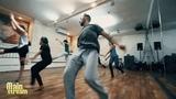 На занятии Contemporary у Сергея Провоторова Май2017 Центр Танца MAINSTREAM