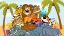 Веселая анимационная открытка с днем рождения