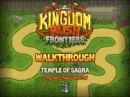 Kingdom Rush Frontiers Walkthrough Temple of Saqra stg11 Iron Challenge Veteran