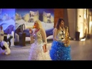 Дубай, JBR, декабрь, рождество, JBR, песни и танцы под Jingle Bells